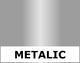 P.S. Metallic Silver, 0,5*25m - 1/2