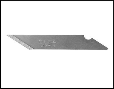 Skalpelová čepel/náhradní odřezový nůž do plotrů, rozměry 18x6x0,45 mm